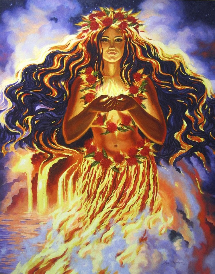 Pele...Goddess of the Volcano
